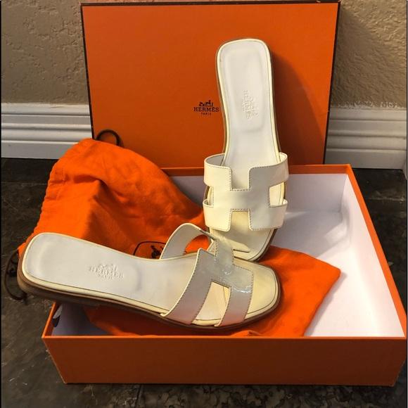 db9f2da6c50a Hermes Shoes - Hermès Oran sandals. EUC. True to size